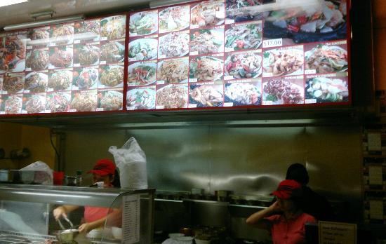 Caloundra, Αυστραλία: huge menu