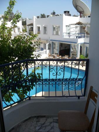 Serhan Hotel: view from room 307