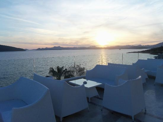 Bodrum Holiday Resort & Spa : View from cafe Turk