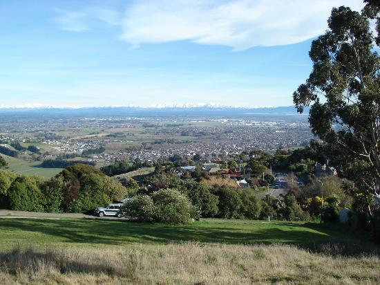 Canterbury plains from Victoria Park