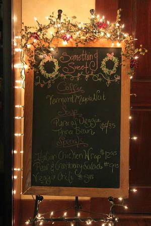 Something Sweet Dessert Cafe: daily specials
