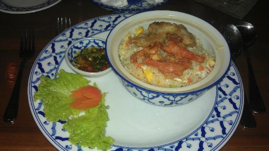 Tera-Thai Fine Dine Restaurant: Fried Rice