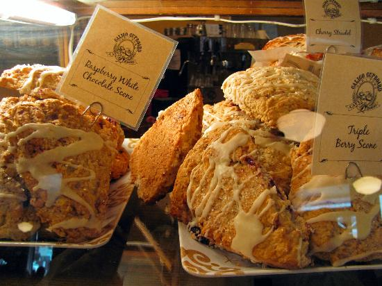 Calico Cupboard Old Town Cafe: Scones at Calico