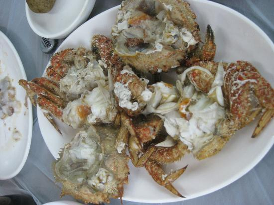 Millak Heo Center: steamed crab