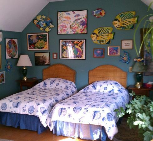 سيمونز هومستيد إن: Fish Room 9 as Twin beds