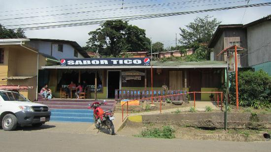 Sabor Tico: Picture of the restaurant from outside
