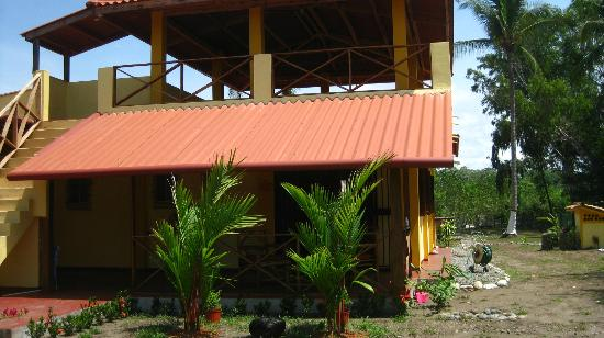 Casa Laguna: A view of the casa from the front, including the roof deck