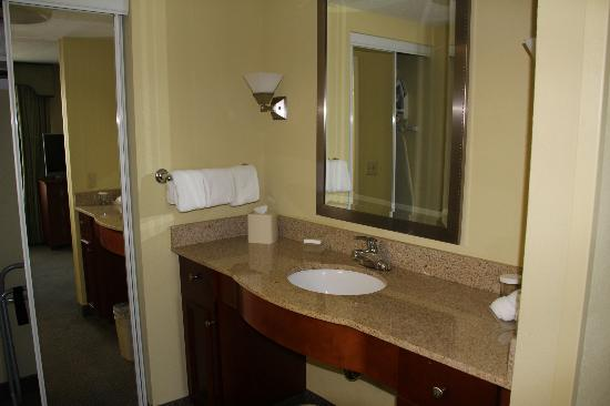 Homewood Suites by Hilton Newburgh-Stewart Airport: Bathroom