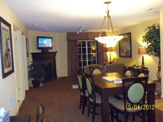The Colonies at Williamsburg Resort: Living Area
