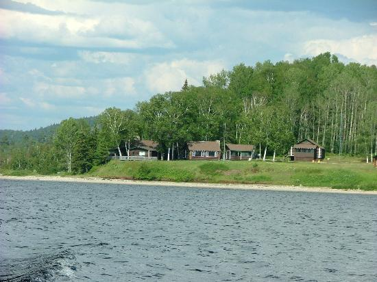 Camp Anjigami from the water