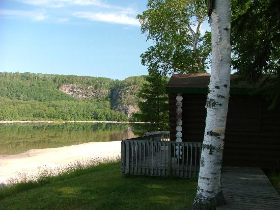 Camp Anjigami : View from side of Loon's Nest