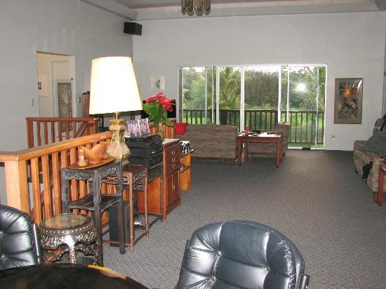 Bed & Breakfast Mountain View : common area