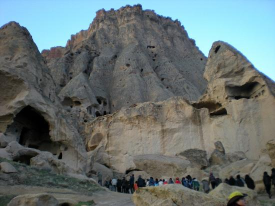 Cappadocia Cave Dwellings: unique geological formations, volcanic eruptions, erosion and wind
