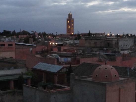 Riad Essaoussan: Hermosa vista desde la terraza