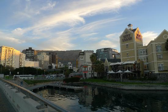 City Lodge Hotel V&A Waterfront: across the river
