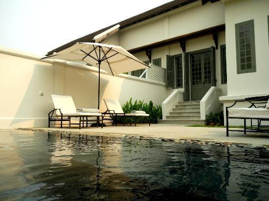 Amantaka: pool suite