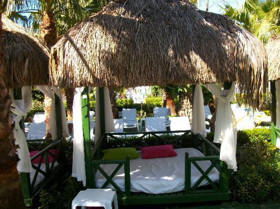 Delphin Palace Hotel: Free pavillions