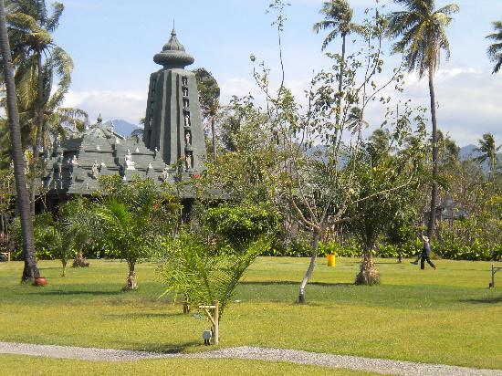 Hotel Tugu Lombok : tempio