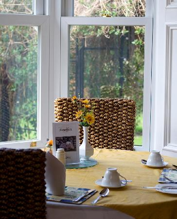 Fairview Guest House: A view of the sunny breakfast room