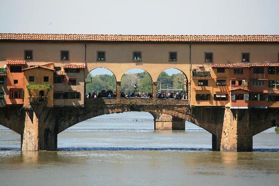 Toskana, Italien: Ponte Vecchio, Florence