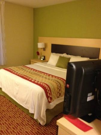 TownePlace Suites Nashville Airport : Bed - King Suite (211)