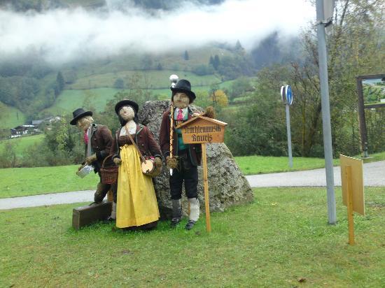 Hotel Sonnhof: Enter to Rauris