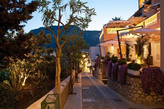 Capri Tiberio Palace: Ingresso Hotel