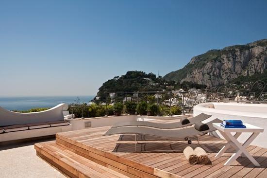 Capri Tiberio Palace: Mojito Terrace