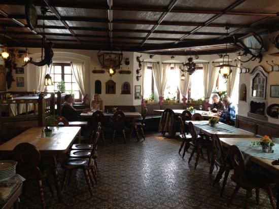 Wallgau, Germany: cosy Bavarian, great food!