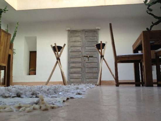 Riad de Vinci: La porte des chambres