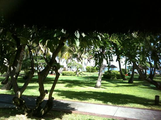 La Pirogue Mauritius: vue de la chambre 107