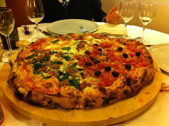 Al Boccaccio: tagliere di pizza x 4