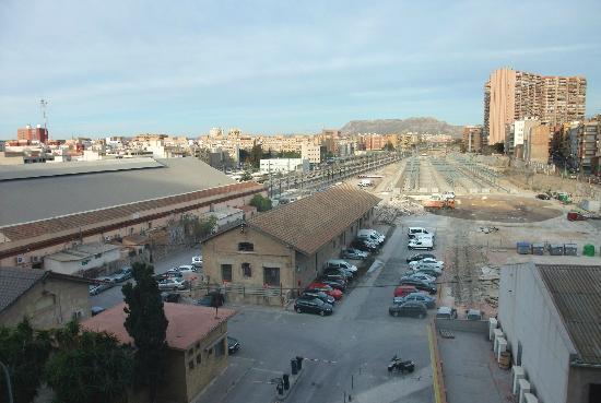 La City : View of Alicante from bedroom.
