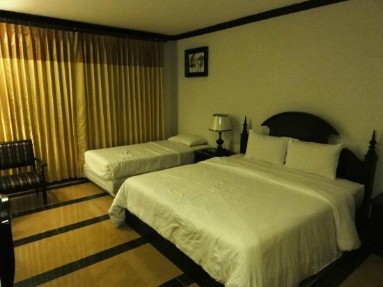 Lucky Angkor Hotel and Spa : chambre