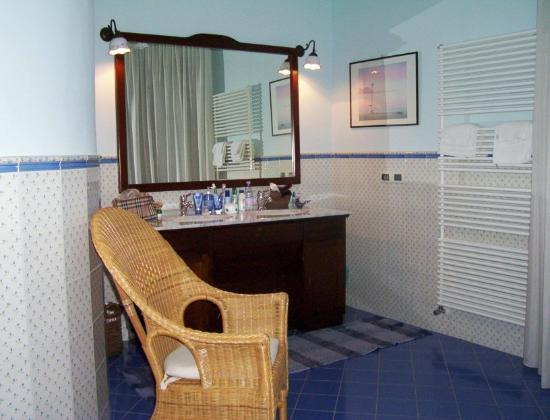 la casa del palombaro il bagno bellissimo e grande