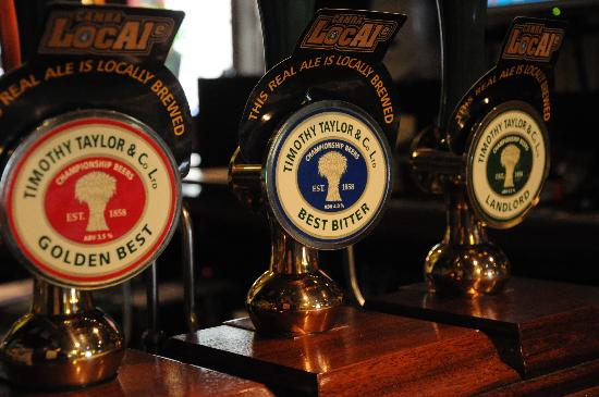 The Woolly Sheep Inn: The finest range of beers around