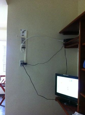 Hotel Advanced: Instalação de TV a cabo
