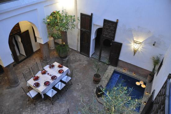 Riad Elixir: salle à manger