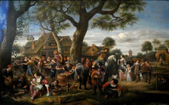 Frans Hals Museum: Jan Steen, The Fair at Warmond, 1676