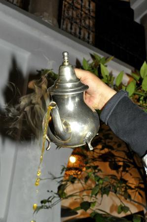 Riad Elixir: thé à la menthe