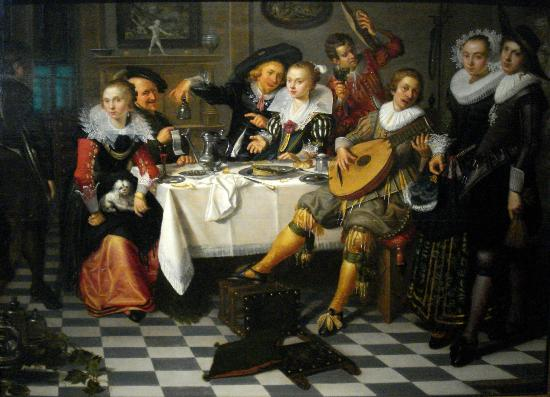 Haarlem, Holland: Isaac Elias, Celebrating Company, 1629