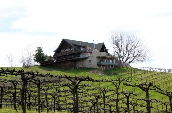 Fitzpatrick Winery and Lodge : The Lodge on the Hill