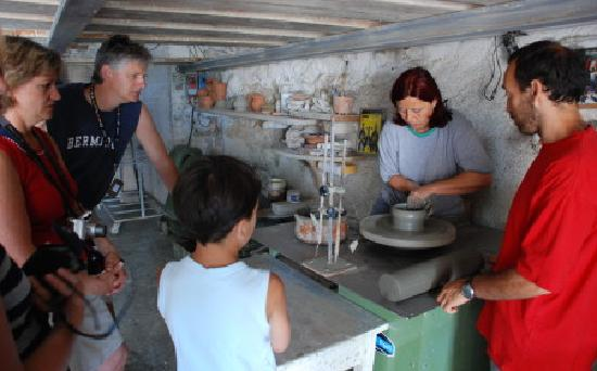 Agriturismo Frallarenza : pottery classes
