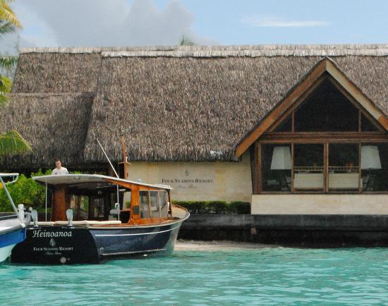 Four Seasons Resort Bora Bora: Reception