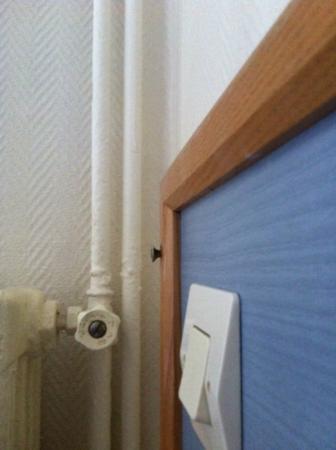 Hotel Amarys Simart: Bed Headboard