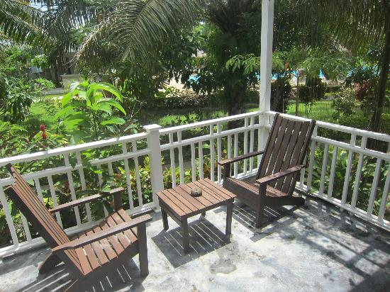 Lanta Klong Nin Beach Resort: Terrace