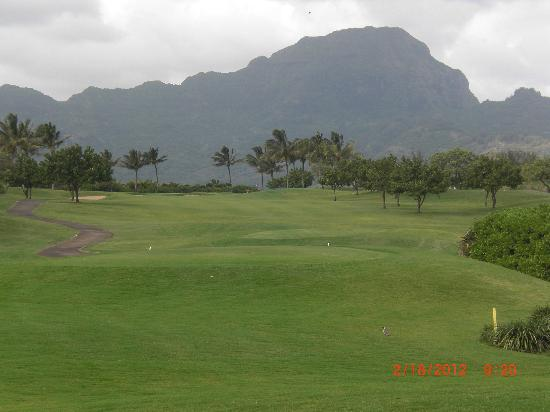 Poipu Bay Resort Golf Course: Hole 12