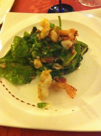 Restaurante Méli-Mélo: ensalada