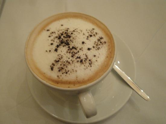 Old Austria Restaurant : Cappuccino coffee