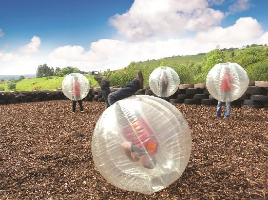 Todds Leap Activity Centre: Body Zorbing, Extreme Outdoor Fun at Todds Leap, Ballygawley